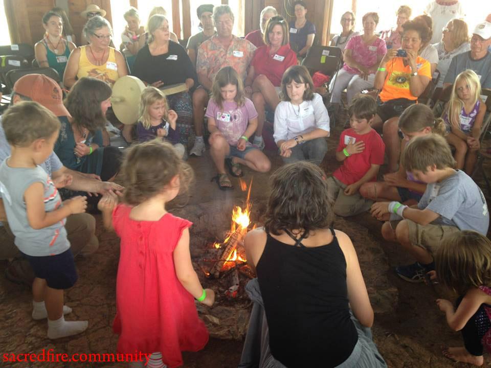 children sacred fire community asheville