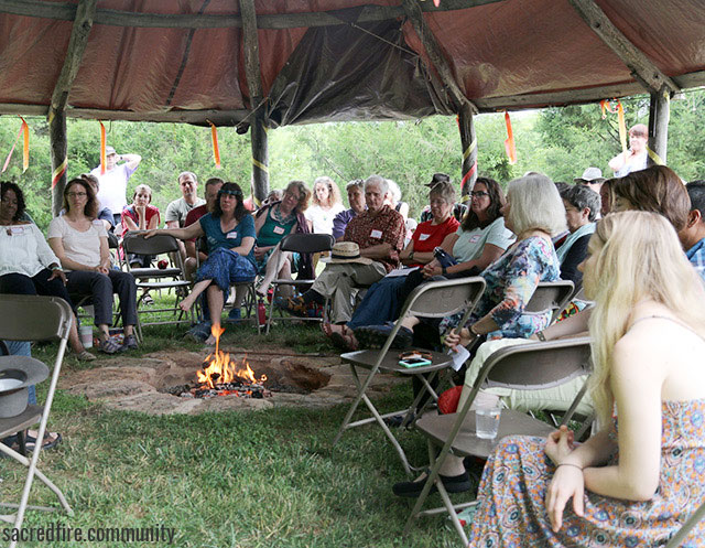 New Freedom, hearth, sacred fire, story of corn